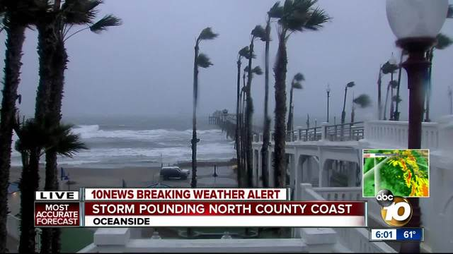 10News breaking weather coverage