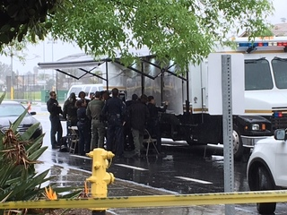 SWAT standoff in San Ysidro evacuates apartments