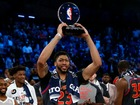 Davis drops 52 as West tops East in NBA ASG