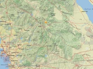 3.2 magnitude earthquake reported in Julian area