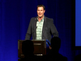 Chargers QB Rivers makes emotional SD appearance