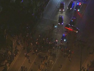 Protests break out after off-duty cop incident