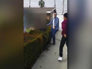 Protest erupt after LAPD cop pulls gun on kid