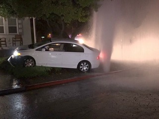 Chase leaves mess in front of La Mesa home