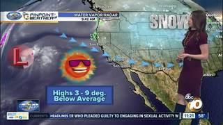Angelica's Forecast: Showers Starting Sunday