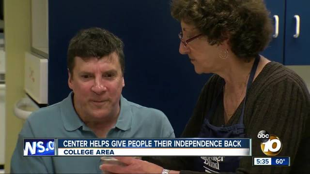 Center helps give people their independence back