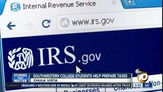 College Students Providing Free Tax Preparation