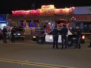 Woman stabbed in fight outside of PB nightclub