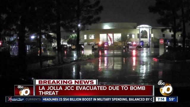 La Jolla JCC evacuated due to bomb threat