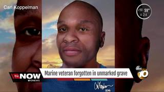 Man in unmarked grave may be elite Marine