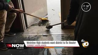 Theater students want district to fix theater