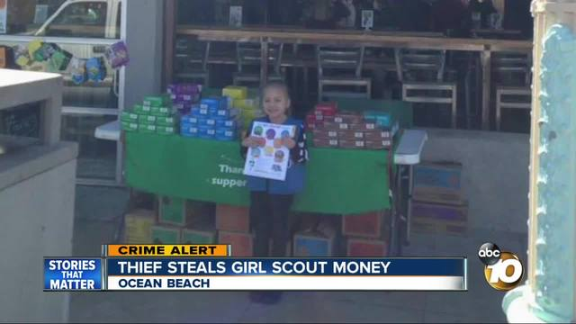 Girl Scout Cookie Drop under way