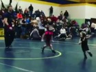 CUTE VIDEO: Wrestler just wants to run away