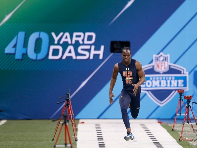 Hodges enjoys record-setting performance at NFL Combine