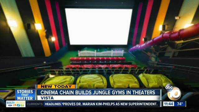 Cinepolis Vista To Introduce Kid Friendly Auditorium With Jungle Gym Bean Bag Chairs