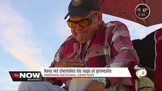 Navy vet speaks on Miramar Cemetery changes