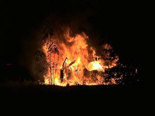 Car bursts into flames on I-8 near SR-125