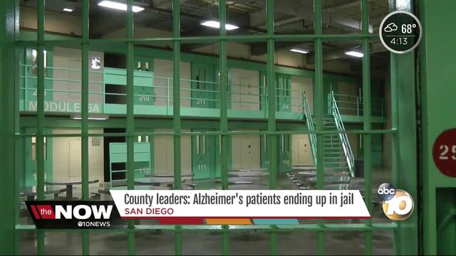 County leaders- Alzheimer-s patients ending up in jail