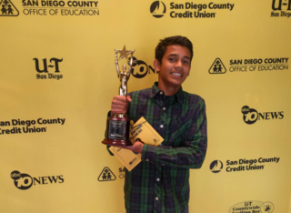 Yash Hande wins county spelling bee