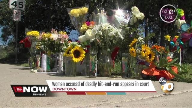 Woman accused of deadly hit-and-run appears in court