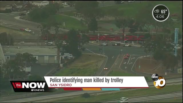 Police identifying man killed by trolley
