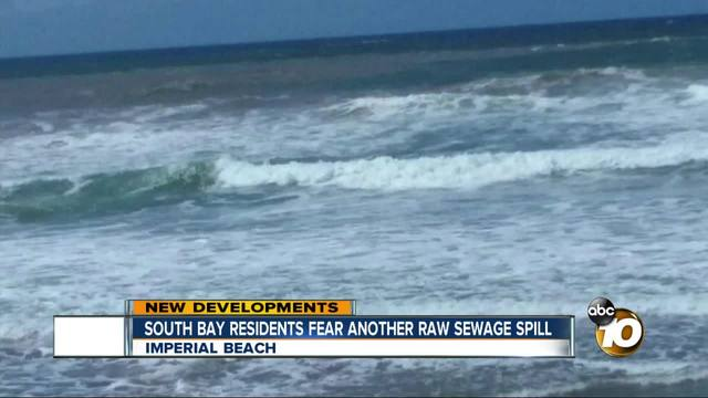 South Bay residents fear another raw sewage spill