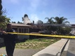 Pet killed, two people hospitalized in fire