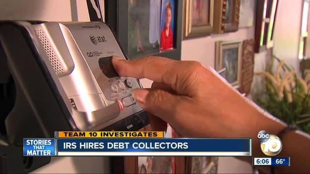 IRS hires debt collectors