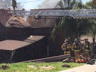 Fire rips through Mountain View home, injuring 2