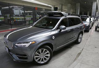 Self-driving Uber SUV in Arizona accident
