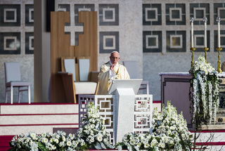 Pope visits Milan housing project