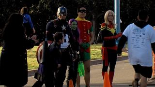 Superheroes join forces for 'Race for Autism'