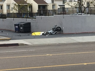 Police chase ends in fatal motorcycle crash