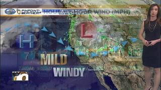 Megan's Forecast: Mild today, warmer tomorrow