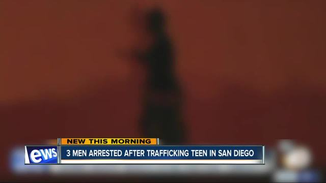 3 men arrested- accused of human trafficking- forcing teen into…