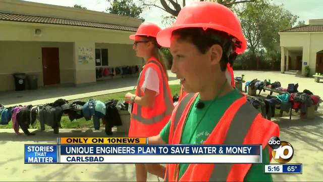 Unique engineers plan to save water - money