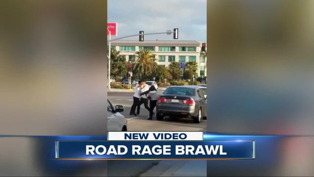 Road rage brawl in Chula Vista