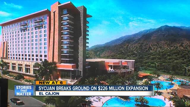 Sycuan Casino breaks ground on new hotel and resort expansion