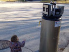 VIDEO: Girl mistakes water heater for robot