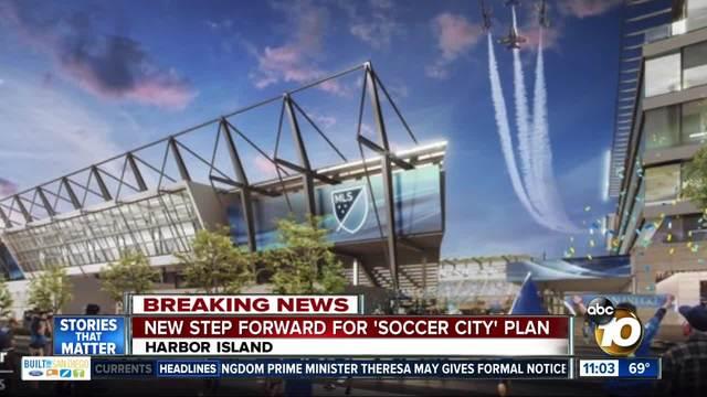 New step forward for -Soccer City- plan