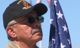 Miramar National Cemetery honoring Vietnam vets
