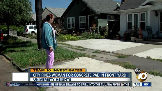 Disabled Woman Claims City Of San Diego Going Overboard With Code  Enforcement Citation   10News.com KGTV TV San Diego