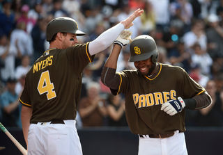 Padres beat Giants in Petco opening day