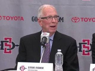 SDSU men's basketball coach Steve Fisher retires