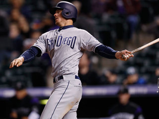 Myers hits for cycle in Padres' win over Rockies