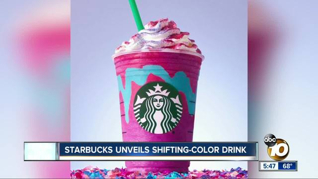 Starbucks Reveals Unicorn Frappuccino Internet Goes Wild