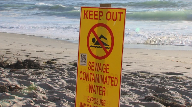 Sewage Spill North Of Windandsea Beach 10news Com Kgtv