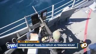 Big pre-deployment training wraps up off coast