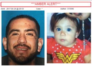 AMBER ALERT: 1-year-old Lexi Segura found safe