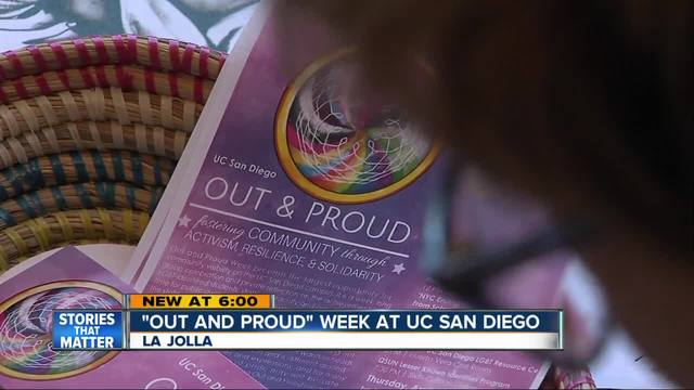 -Out and Proud Week- at UCSD celebrates campus LGBT community